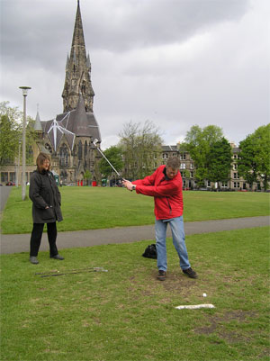 Play golf on Bruntsfield Links, the original 36 hole short course.