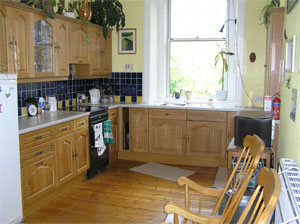 The fully fitted Kitchen,